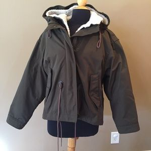 Burberry Brit Green Kingsby Genuine Shearling Line